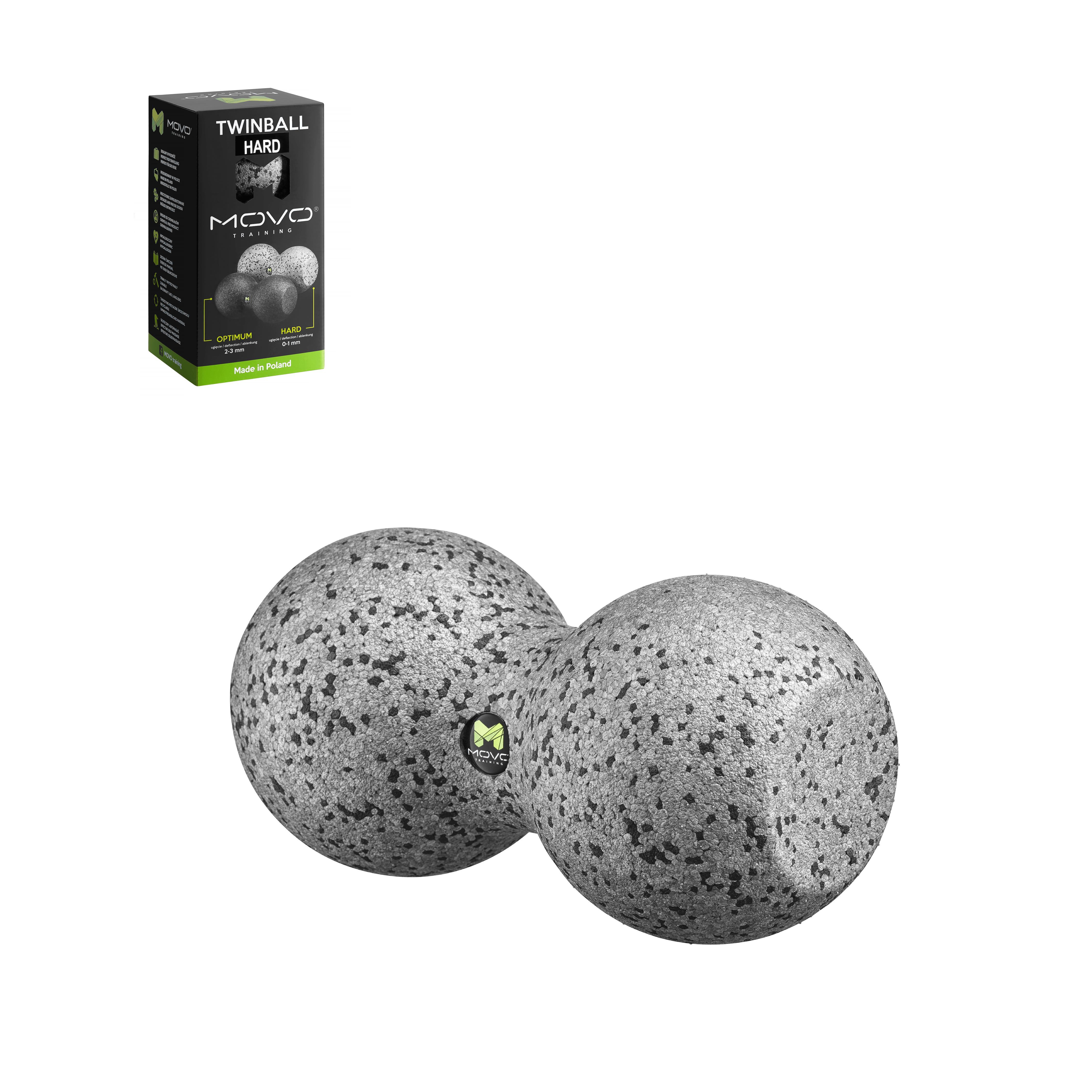 podwójna piłka do masażu twarda