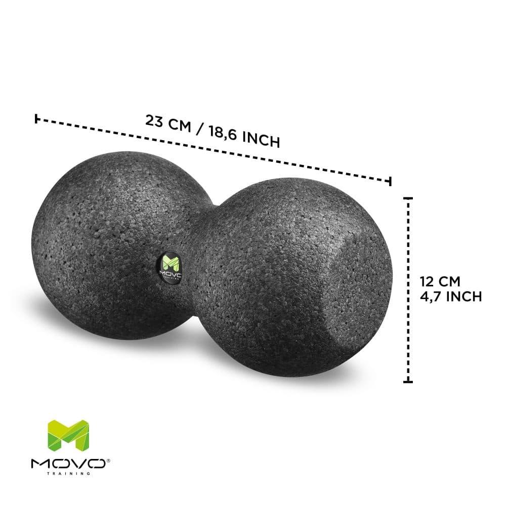podwójna piłka do automasażu 12 cm