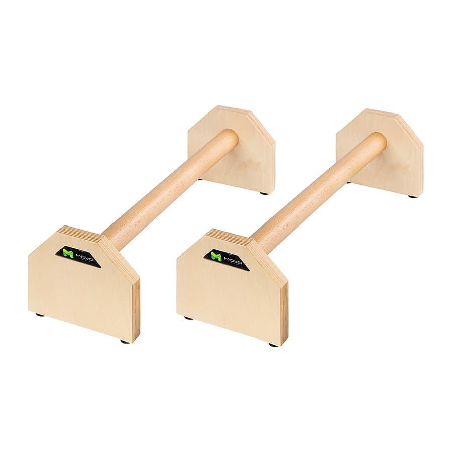 paraletki drewniane do treningu pompek
