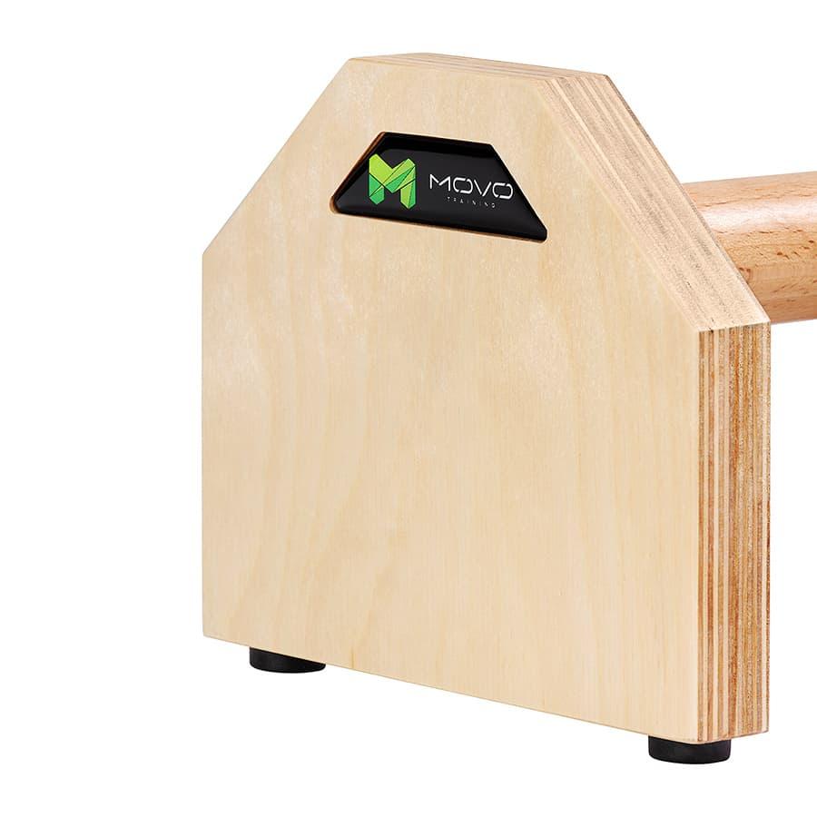 poręcze drewniane do ćwiczeń